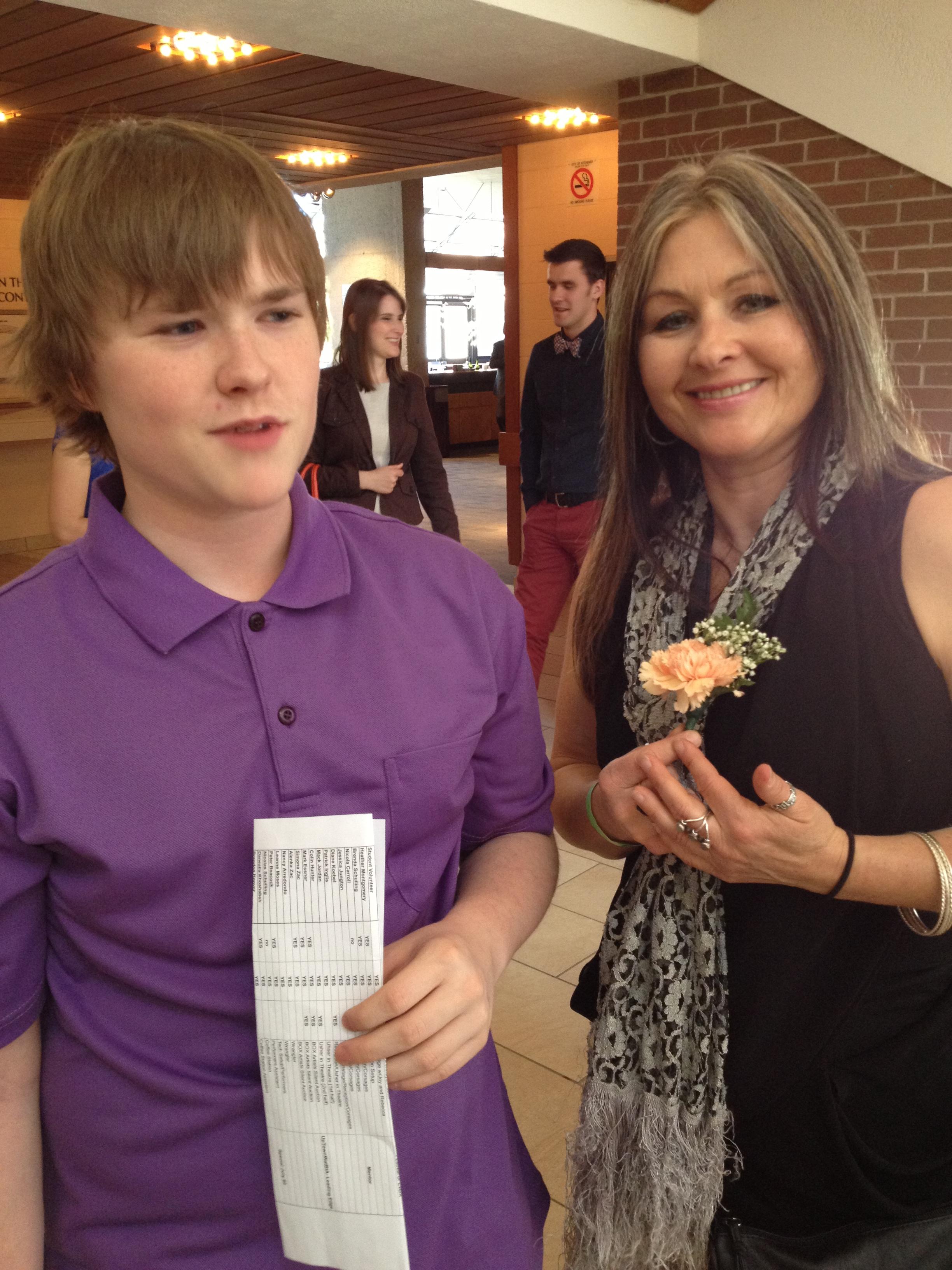 Nicola & Her Son, AAWR Volunteers