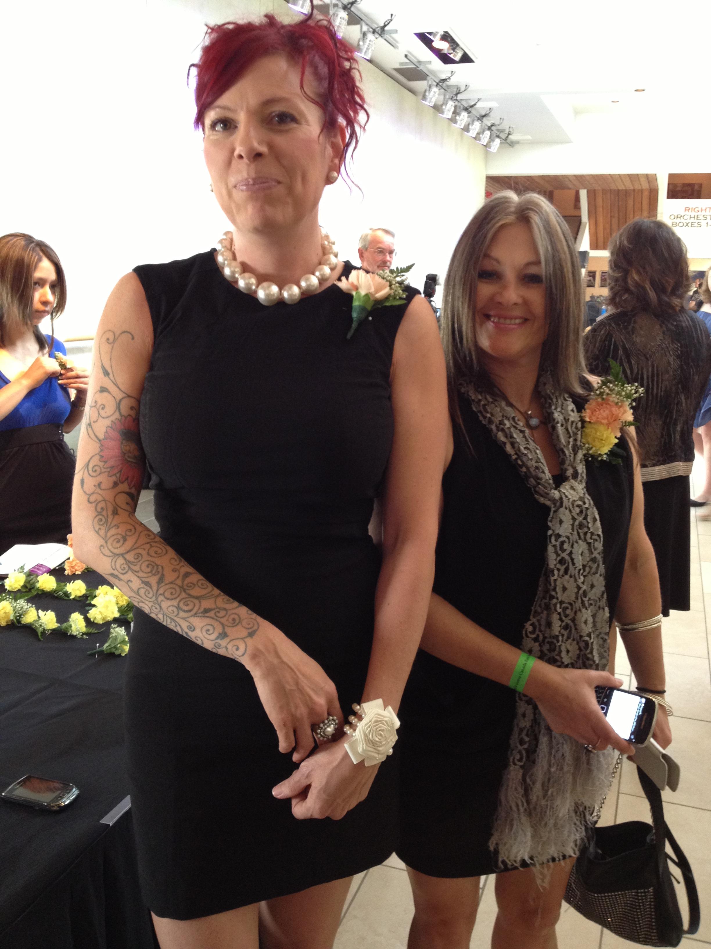 Brenda Schuiling & Nicola Carroll, AAWR Volunteers