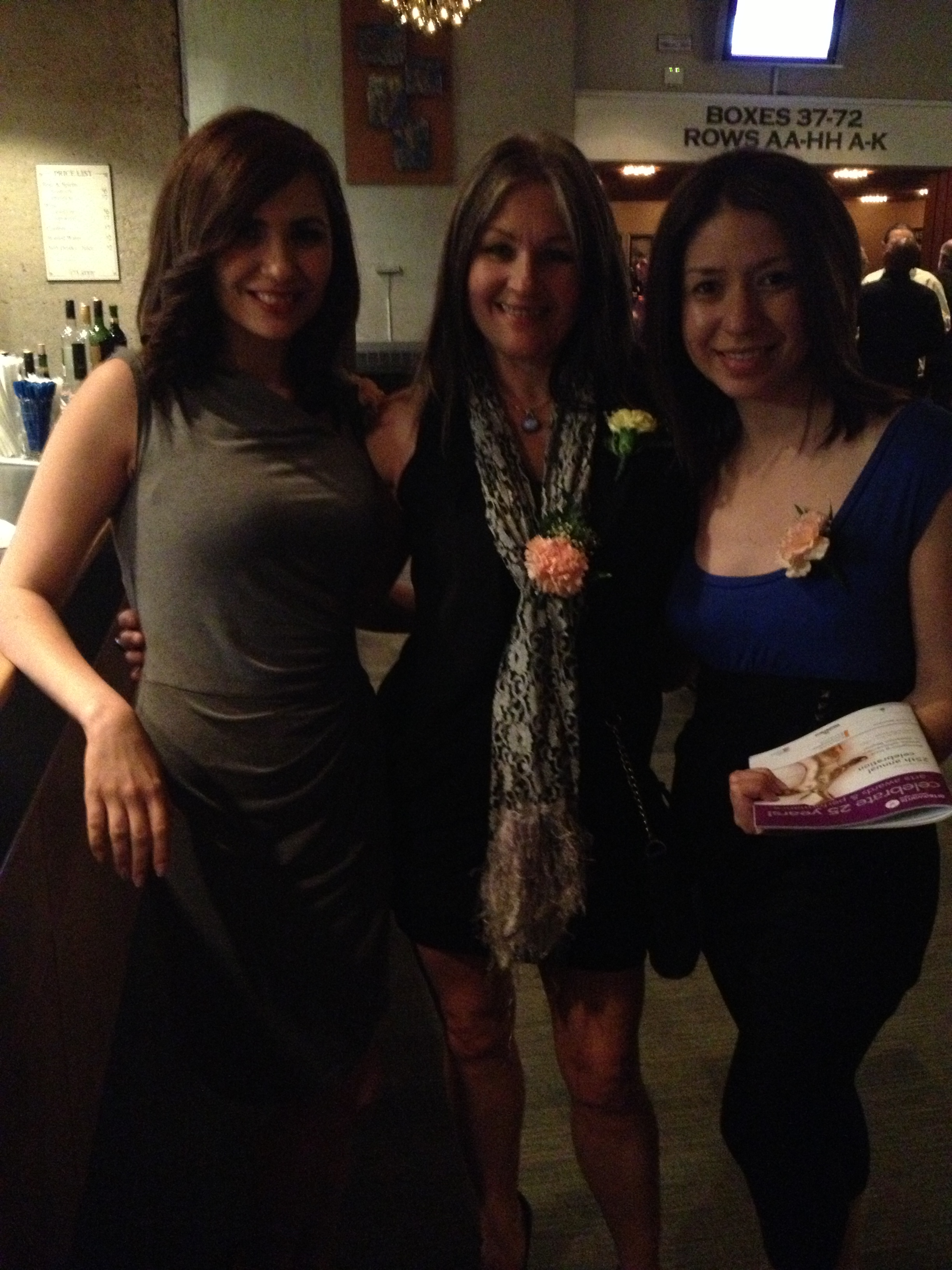 Danealla Khoshabeh, Nicola Carroll & Nancy Arredondo, AAWR Volunteers