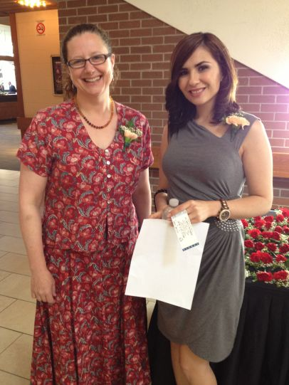 Heather Montgomery & Danealla Khoshabeh, AAWR Volunteers