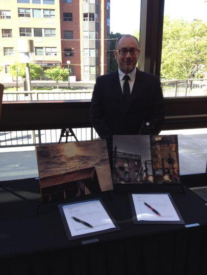 Mark Essner, Artist and AAWR Volunteer