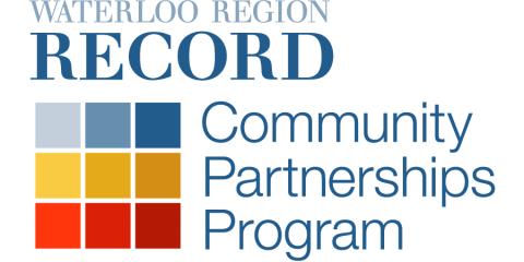 Waterloo Region Record Community Partnerships Program